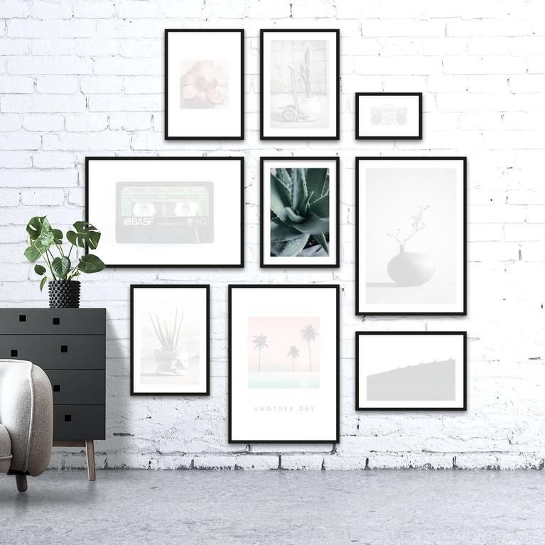 """Poster 50x70 """"Organic vortex"""""""